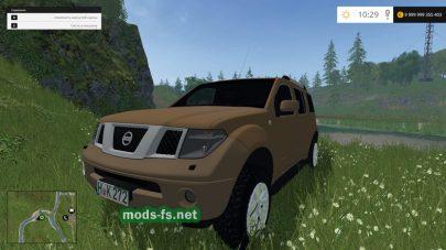 Nissan Pathfinder для FS 2017