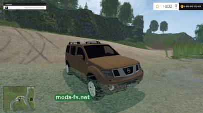 Мод автомобиля Nissan Pathfinder