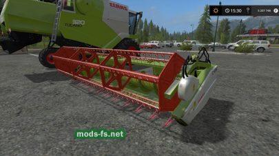 Мод Claas Tucano 320 для Farming Simulator 2017