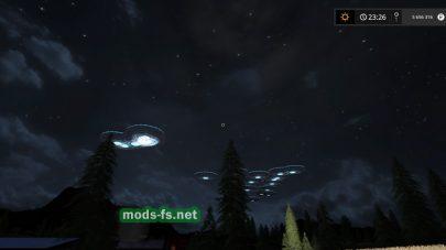 Мод НЛО, летающая тарелка для FS 2017