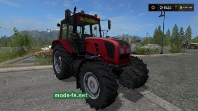 Трактора BELARUS 1221 для игры Фермер Симулятор 2017