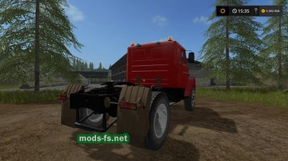 Тягач ЗИЛ ММЗ 555 для Farming Simulator 2017