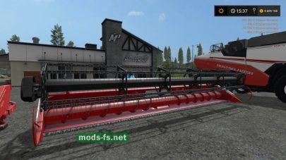 Комбайн РСМ 161 для игры Farming Simulator 2017