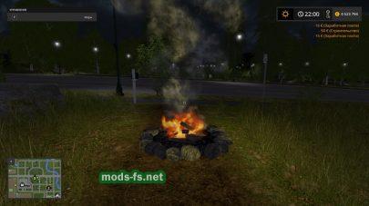 Fire Place в игре FS 2017