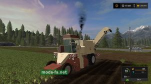 Комбайн КС-6Б для Farming Simulator 2017
