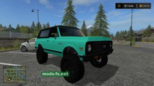 Mint Green Chevy K5 Blazer