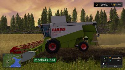 Комбайн CLAAS LEXION 480 с жатками для FS 2017