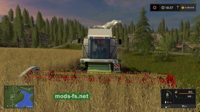 Мод с жаткой Claas Conspeed 8-75 FC для уборки кукурузы