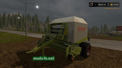 Мод тюкопреса Claas Rollant 250 RC
