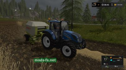 Claas Rollant 250 RC для Farming Simulator 2017