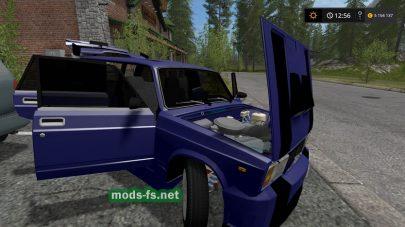 Скриншот мода ВАЗ-2104
