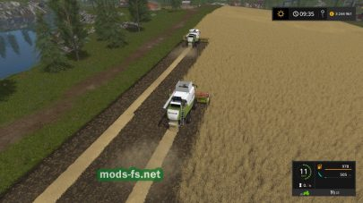 Комбайны Claas Lexion для Farming Simulator 2017