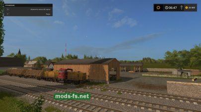 Железная дорога на карте