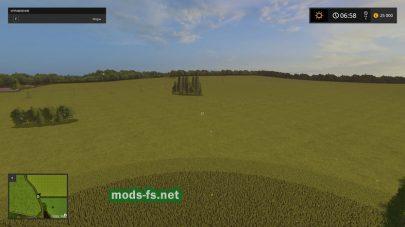 Большие поля в Farming Simulator 2017