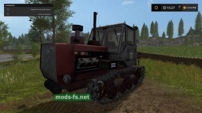 Мод на гусеничный трактор Т-150