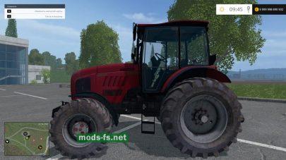 Скриншот мода «Беларус 2022»