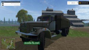 Мод бортового грузовика КрАЗ 257