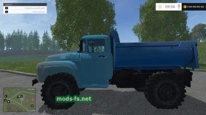 Грузовик ЗиЛ ММЗ 555 для игры FS 2015