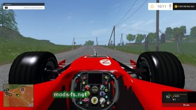 Мод FERRARI F248 RACE CAR для FS 2015