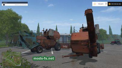 ENISEI 1200 mods