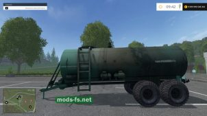Мод цистерны для Farming Simulator 2015
