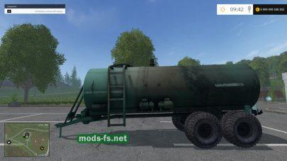Мод цистерны для Farming Simulator 2015