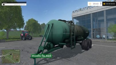 МЖУ-16 для Farming Simulator 2015