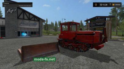 Мод ДТ-75М для Фермер Симулятор 2017