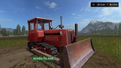 Мод гусеничного трактора ДТ-75М