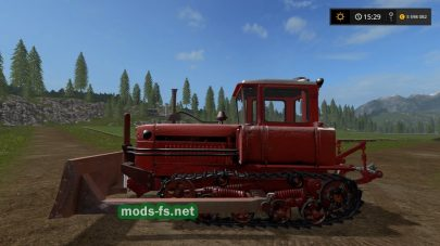 ДТ-75М для Farming Simulator 2017
