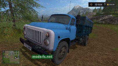 GaZ 53 mods FS 2017