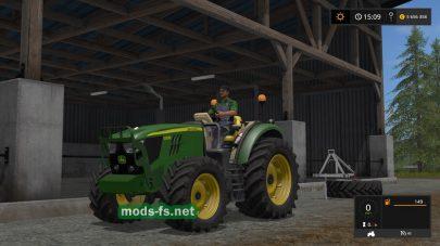 Трактор JOHN DEERE без кабины для FS 2017