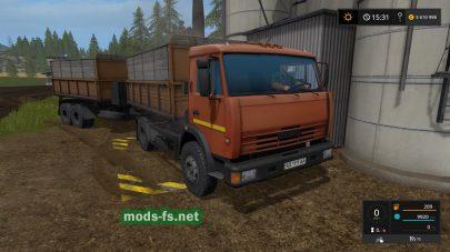 Скриншот мода КамАЗ-43255C