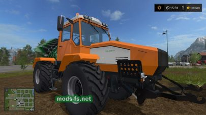 Мод трактора «Слобожанец» ХТА 220-2
