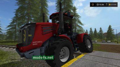 kirovec-9450 mods