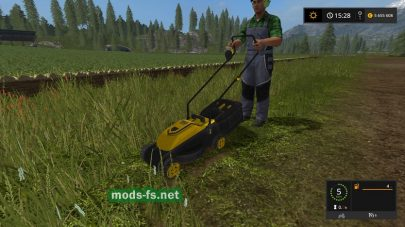 LIZARD TRX MOWER