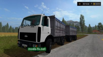 МАЗ-5551 для Фермер Симулятор 2017