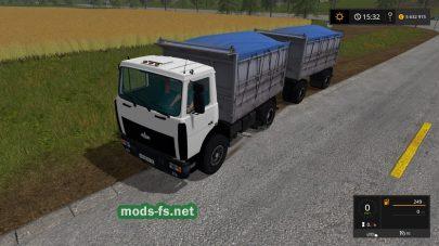 Грузовик МАЗ-5551 для FS 2017