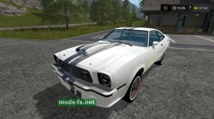 Мод автомобиля Mustang Cobra 78