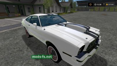 Mustang Boss302 для Farming Simulator 2017