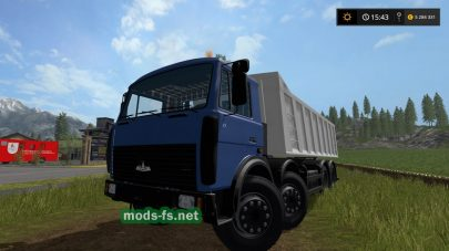 МЗКТ-651510 Volat для Farming Simulator 2017