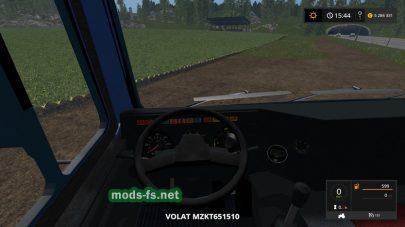 Мод грузовика МЗКТ-651510 Volat