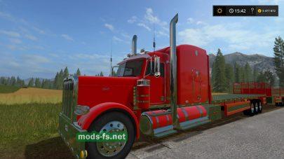 Peterbilt 388 для Farming Simulator 2017