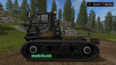 Мод трактора PISTENBULLY 100