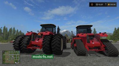 Мод трактора с возможностью установки гусениц