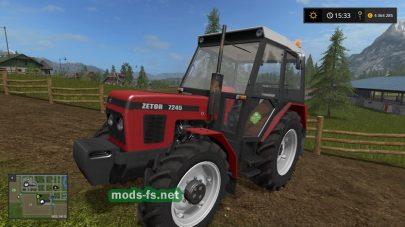 Мод трактора ZETOR-7245