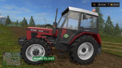 ZETOR-7245 для Farming Simulator 2017