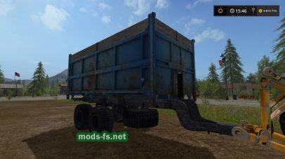 Мод «2ПТС-9» для Farming Simulator 2017