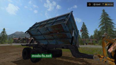 Мод прицепа для сена в игре Farming Simulator 2017