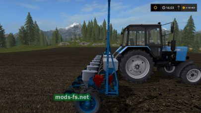 Сеялка УПС-8 для Farming Simulator 2017